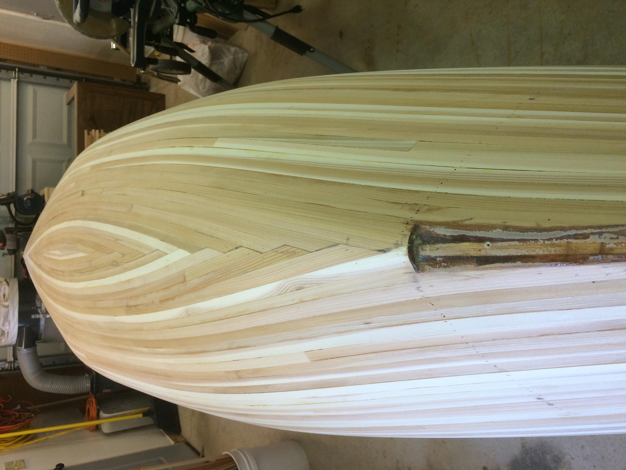 Canoe accent strip