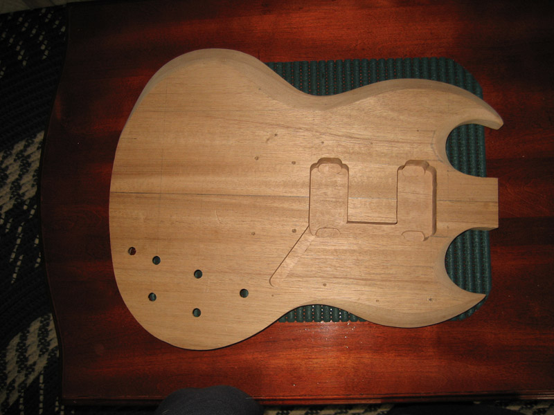 Routing cavities for electric guitar pickups - Router Forums