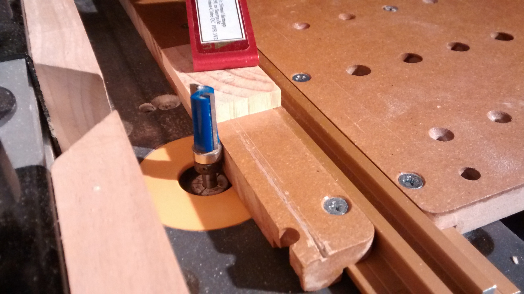 Integrating Incra Jig Parts Amp Craftsman Tablesaw Amp Router
