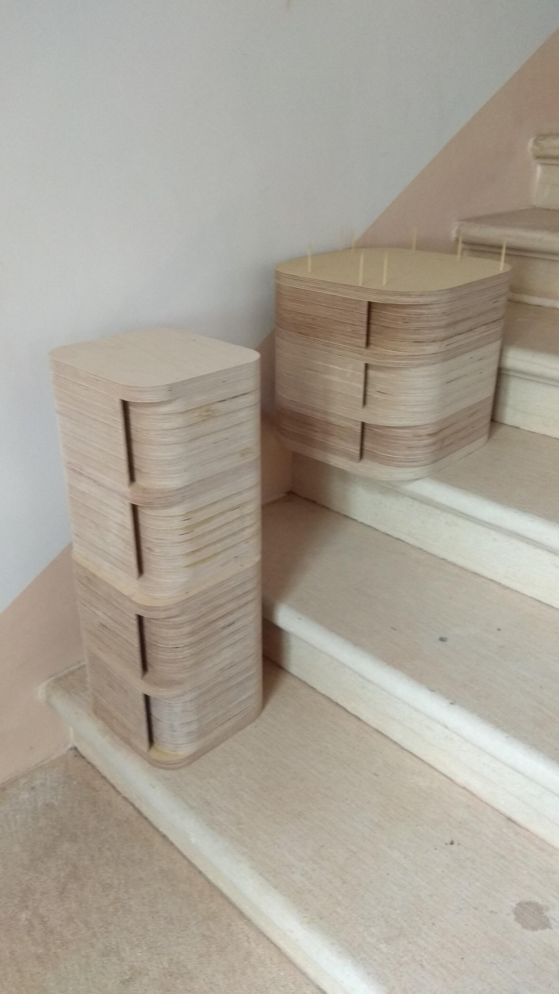 Routing Translam Birch Plywood End Grain Router Forums