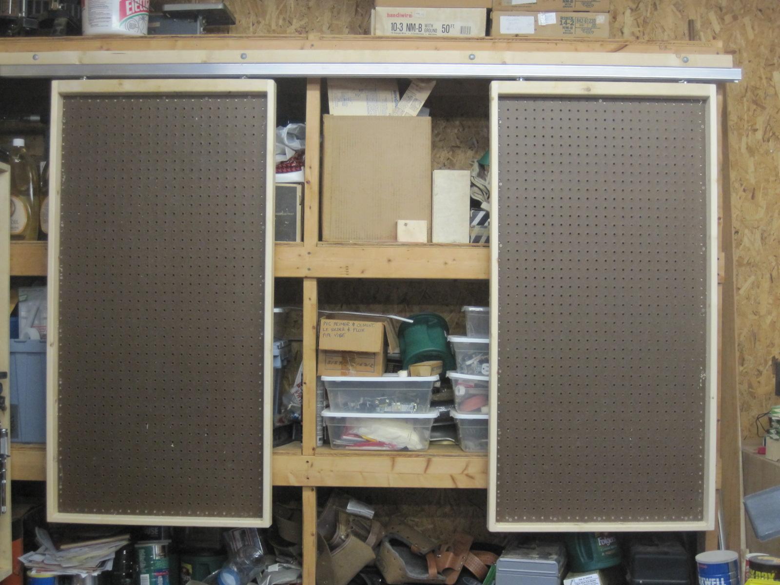 2x4 garage shelves help - Router Forums