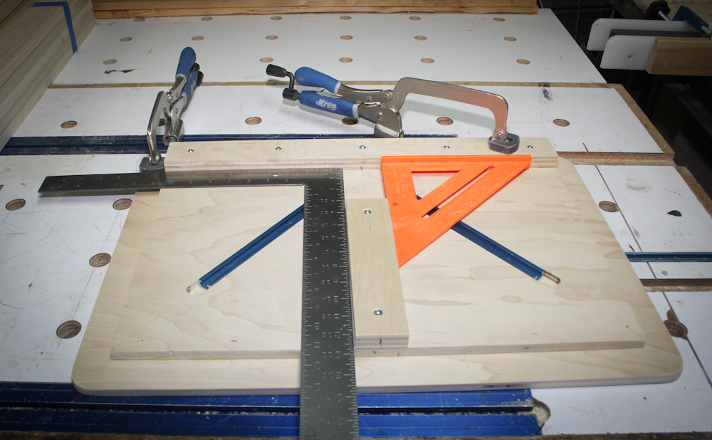 Portable Pocket Screw Face Frame Assembly Jig - Router Forums