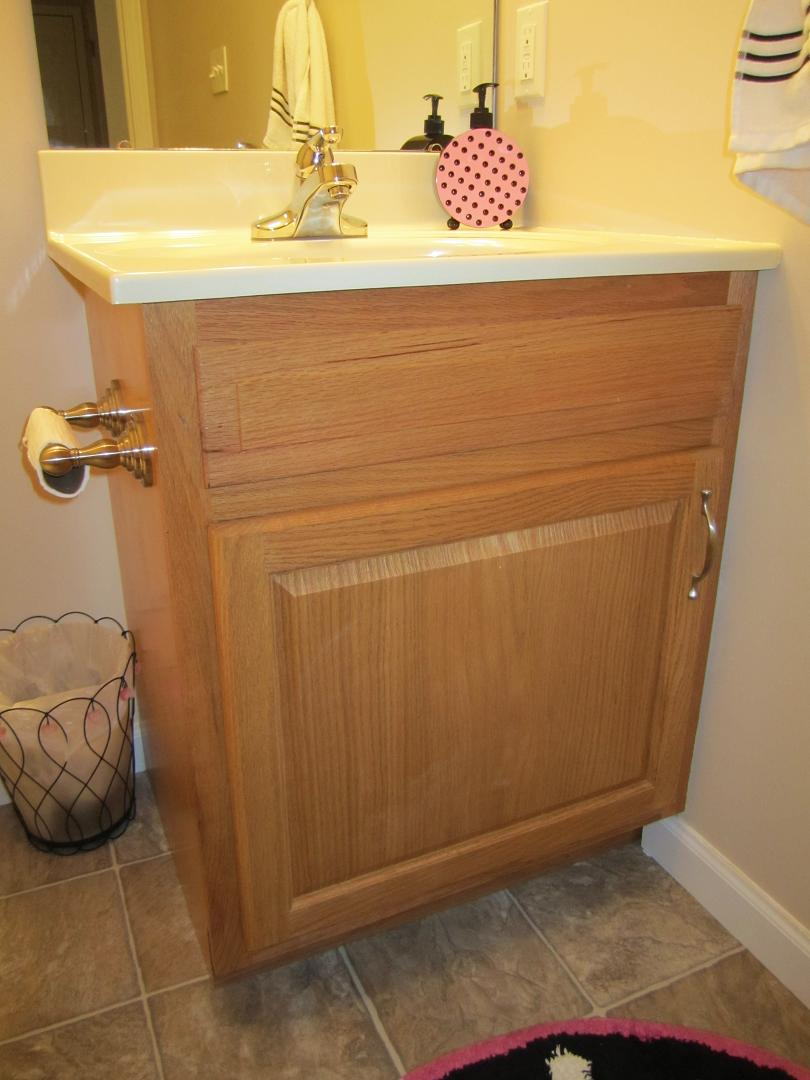 How To Restain Bathroom Vanity Router Forums