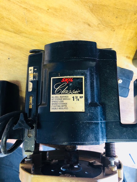 Need A Manual For A Skil Model 1835 Type 1 Plunge Router Router Forums