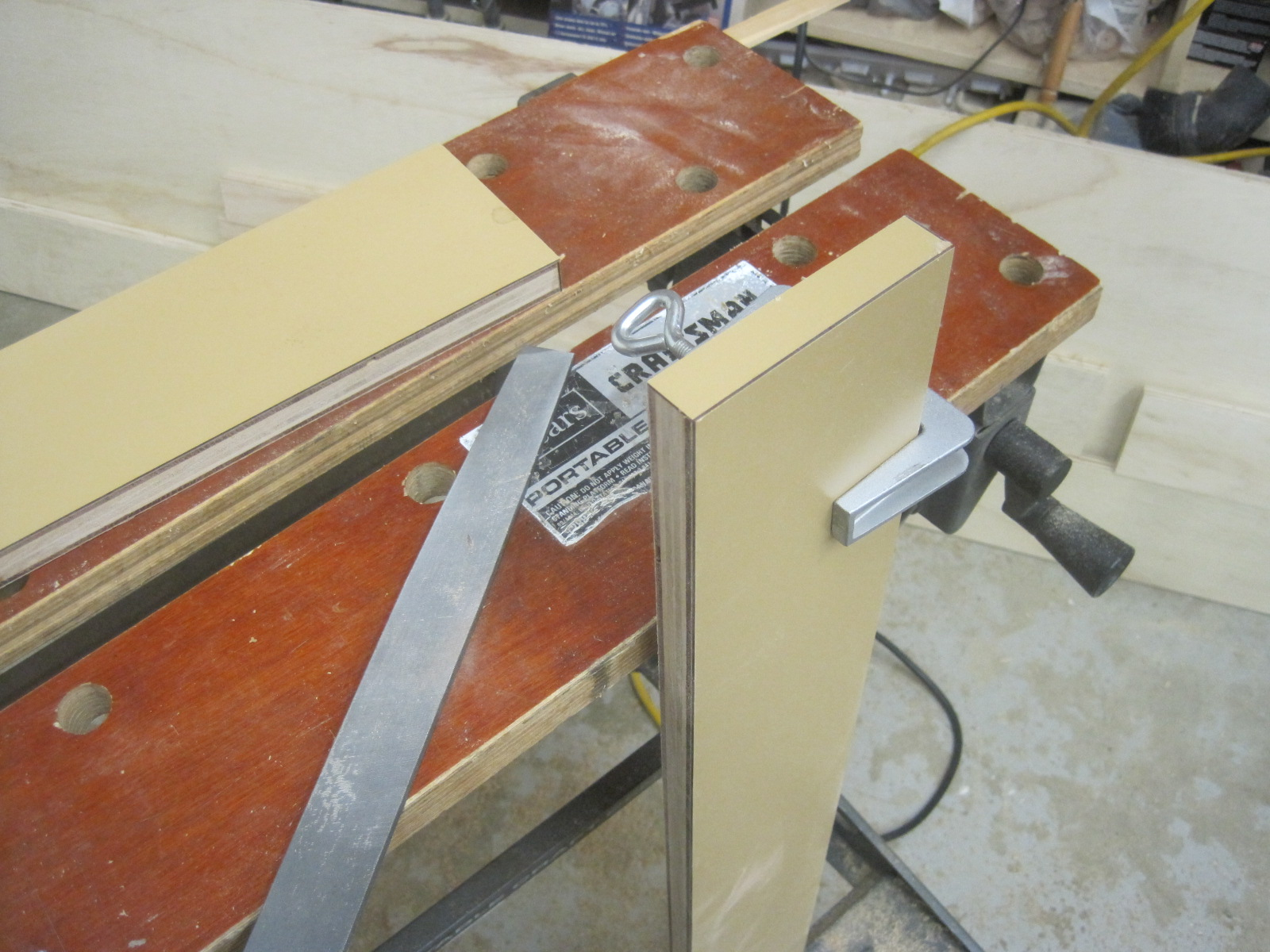 5 basic clamps for every woodworking shop - router forums