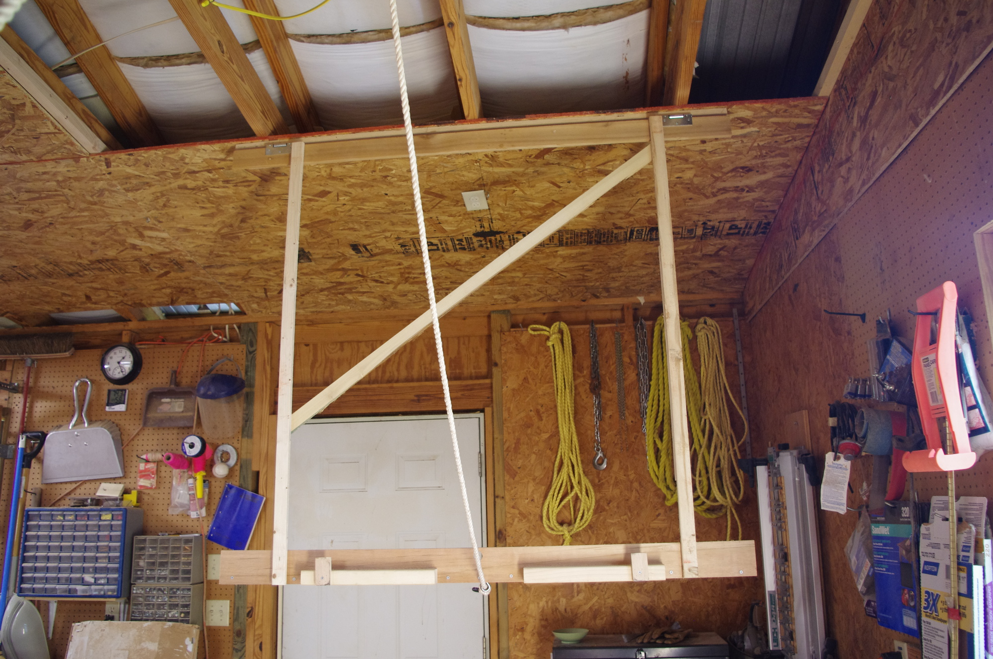 Jig to Install 4X8 Sheets to Ceiling - Router Forums