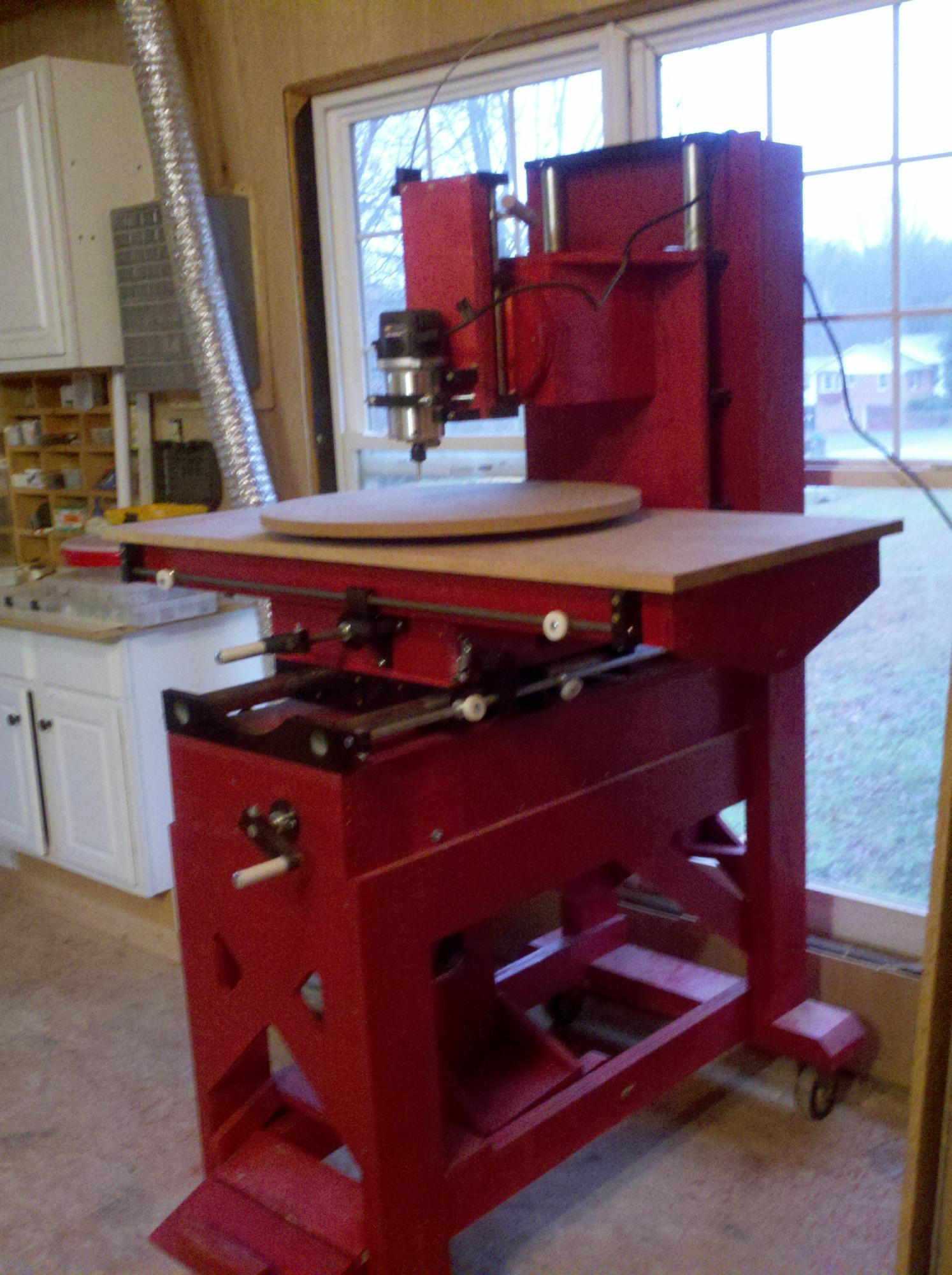 My New Improved Homemade Router Milling Machine Router