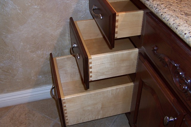building kitchen cabinet drawers - Router Forums