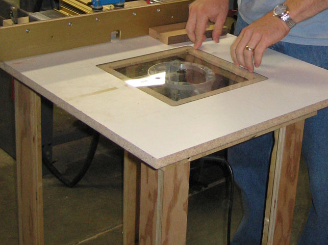 Masterforce Router Table Router Forums - Making-router-tables