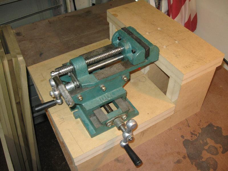 Cross Slide Vise For Benchtop Mortiser Page 2 Router Forums