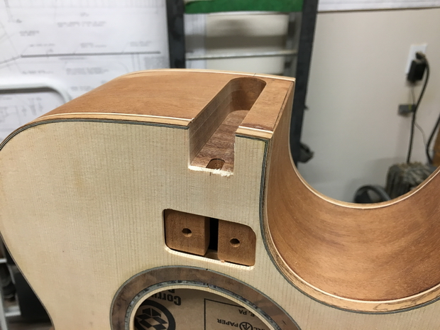 Acoustic guitar - neck joint fixture-mortise-completed.jpg