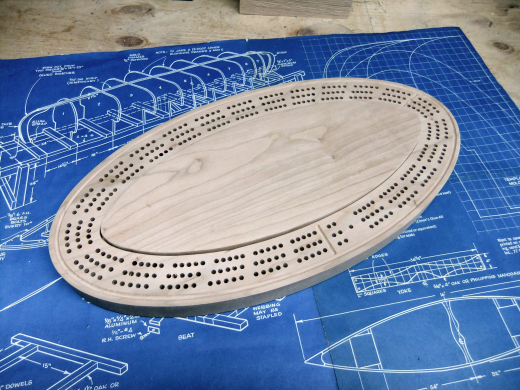 Oval Cribbage Board Router Forums