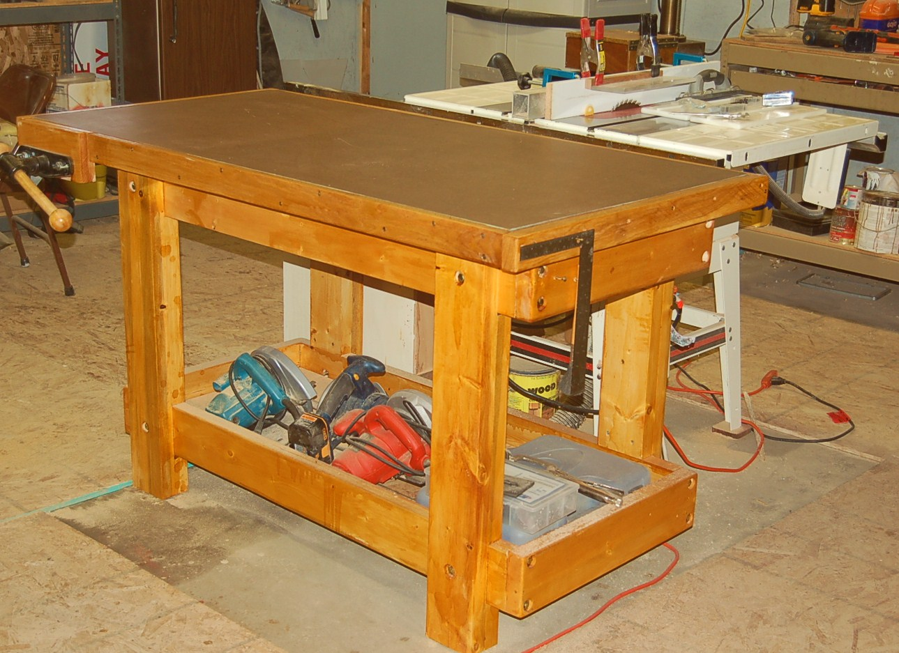 stunning new work bench!! - router forums
