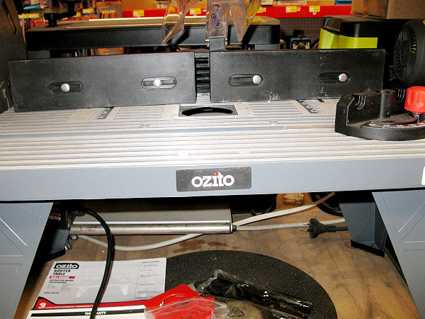 Ozito rtb 001 router table router forums click image for larger version name ozito rout table3g views keyboard keysfo Image collections