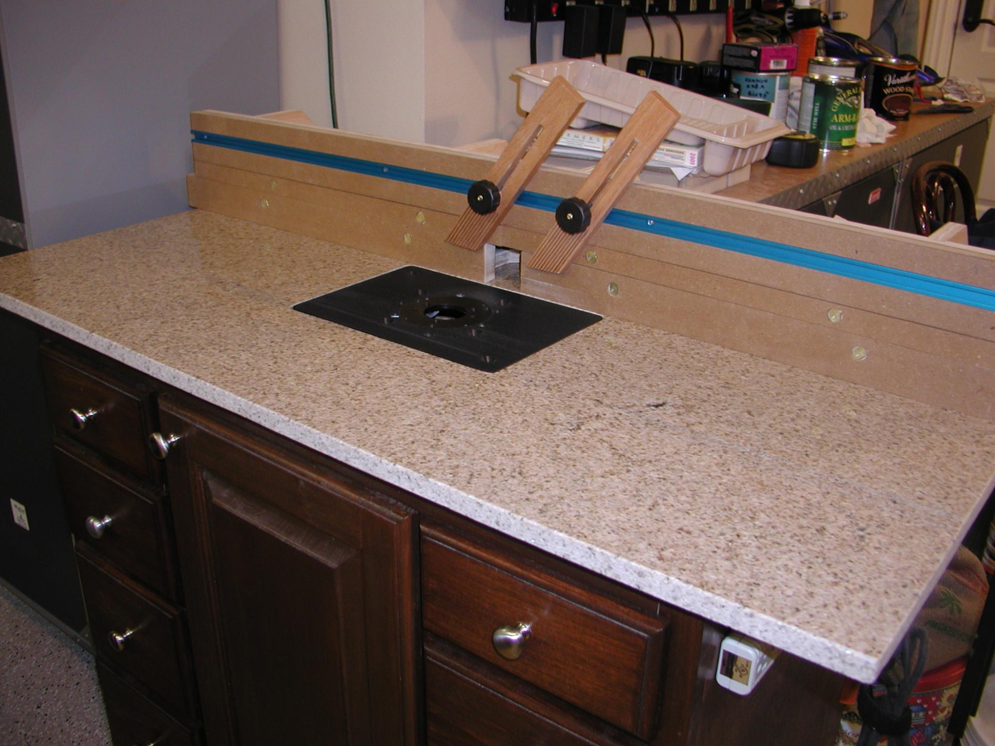 Granite Top Router Table Router Forums