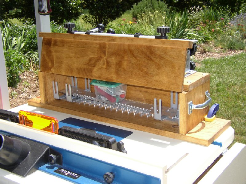Dovetail Jig Storage Router Forums