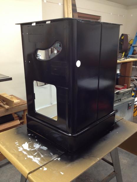 Restoration - Powermatic 66 Table Saw-painted-cabinet-black-not-bad.jpg
