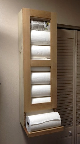 Paper Towel Storage For The Pantry Router Forums