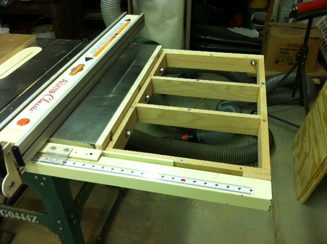Miter Track And T Track On Router Table Router Forums