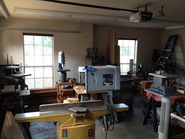 Restoration - Powermatic 66 Table Saw-primered-cabinet.jpg