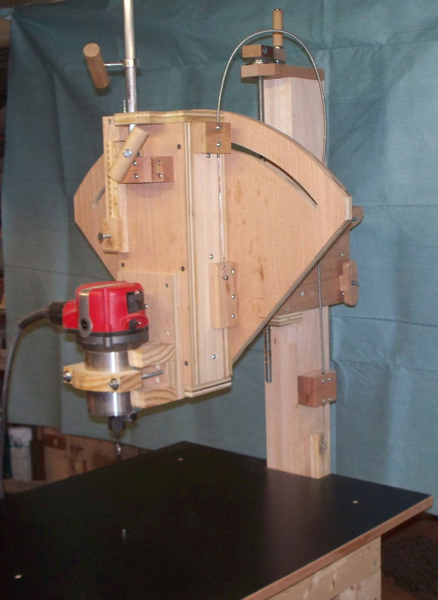 Homemade Pin Router - Router Forums