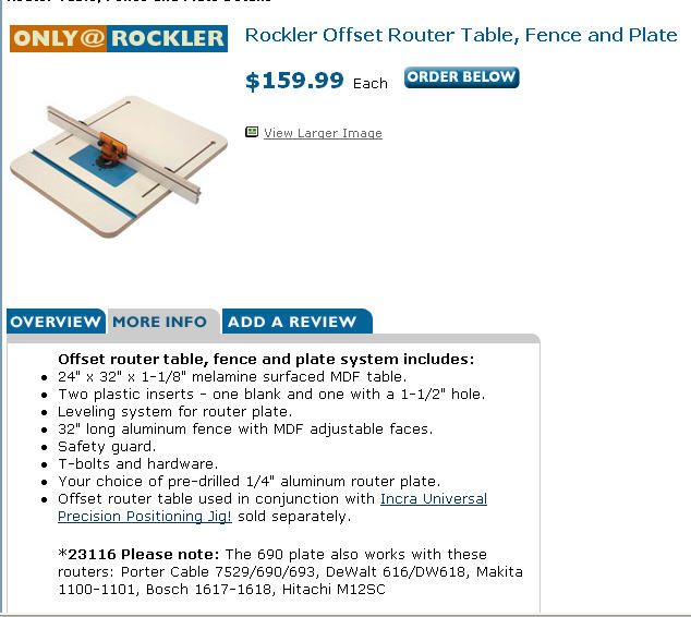 Router table buy or make router forums click image for larger version name rockler router offset router tableg views keyboard keysfo Choice Image