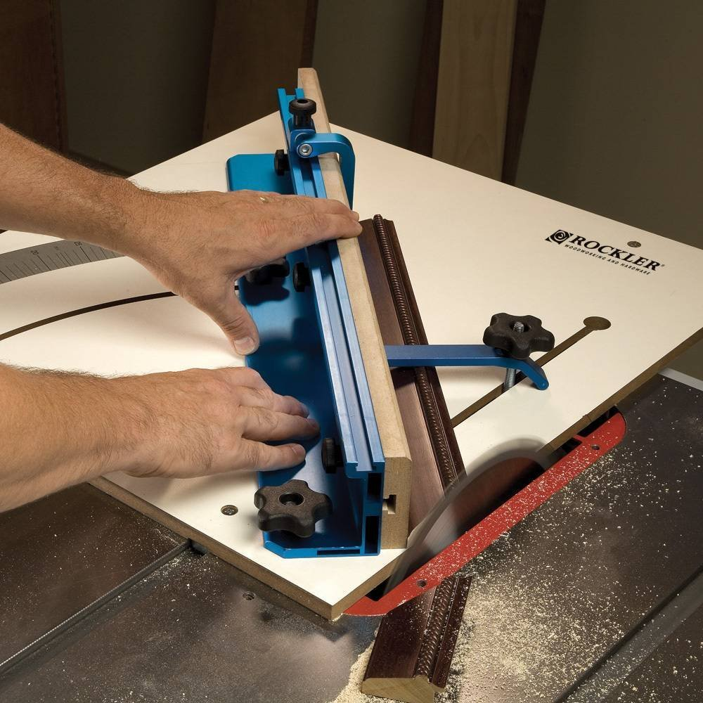 Click Image For Larger Version Name: Rockler Table Saw Crosscut Sled  Views: