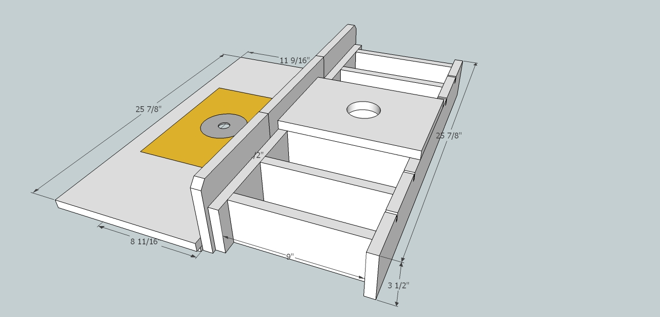 Router table insert for bosch 4100 table saw router forums click image for larger version name router table 04g views 1601 size greentooth Gallery