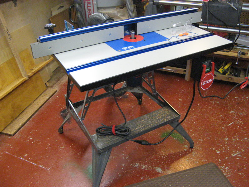 Stand for a router table router forums for How to make a router table stand