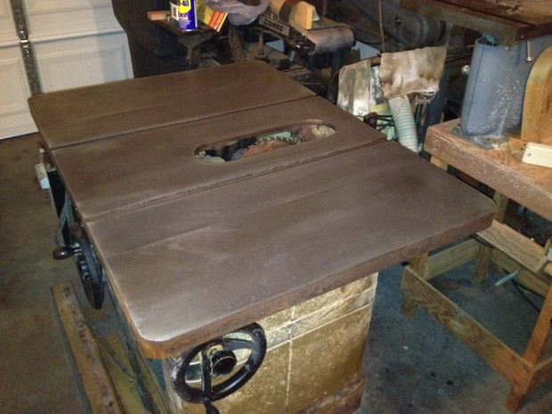 Restoration - Powermatic 66 Table Saw-saw-table-cleaned.jpg