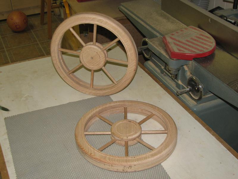 Best Wood Spoked Wheels Tea Cart Router Forums Pm85