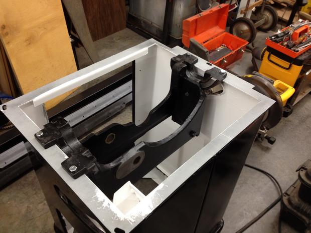 Restoration - Powermatic 66 Table Saw-trunnion-mounted.jpg