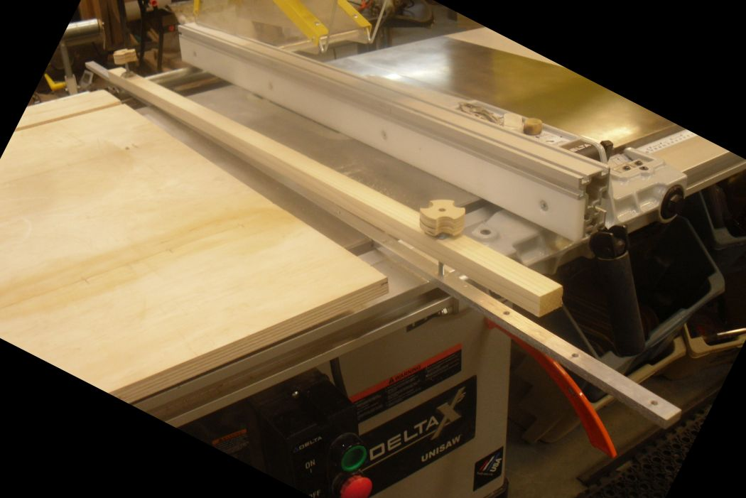 Table Saw Long Piece Cutting Jig Router Forums