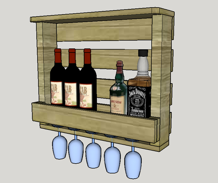 Click Image For Larger Version Name Wine Rack Liquor Cabinet Jpg Views