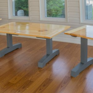 Douglas Fir Trestle Coffee and End Tables